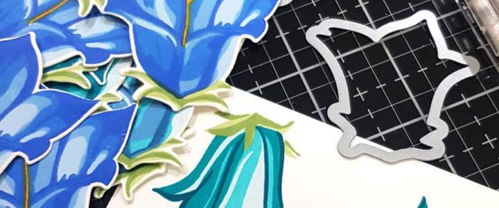 Altenew Build-A-Flower: Bellflower Release Blog Hop + Giveaway