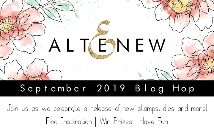 ALTENEW SEPTEMBER 2019 STAMP/DIE/STENCIL RELEASE BLOG HOP +