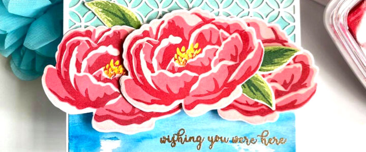 Build-A-Flower: Peony Release Blog Hop + Giveaway