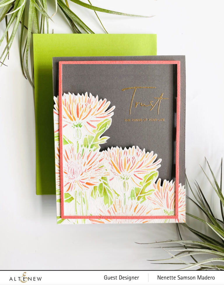 Altenew Paint-A-Flower: Spider Mums & Craft Your Life Apron Release Blog Hop + Giveaway