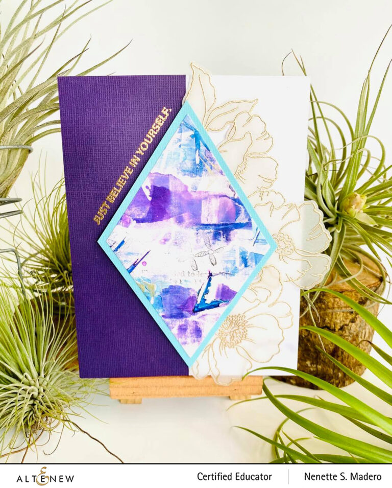 """Altenew Educators """"Floral with Geometric Elements"""" Blog Hop and Linky Party + Giveaway"""