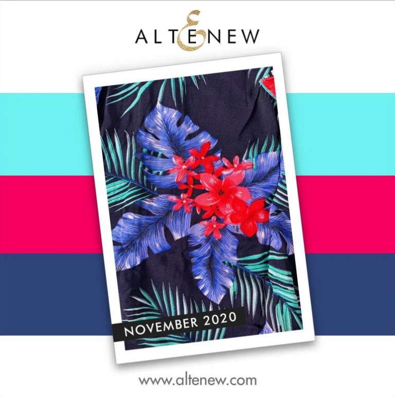 Altenew Inspiration Challenge for November