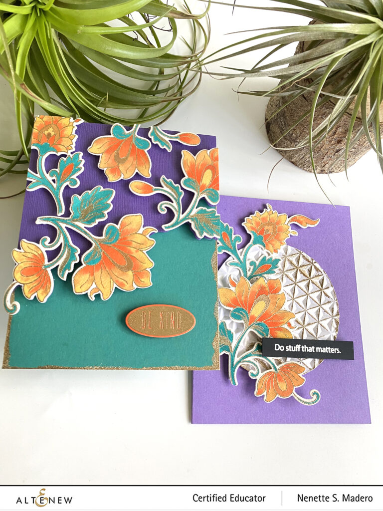 """Altenew Educators """"Favorite Old/New Altenew Stamp"""" Blog Hop and Linky Party + Giveaway"""
