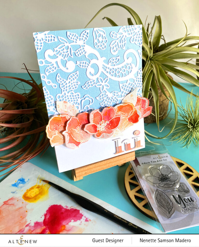 Altenew Eclectic Vibes Stamps/Dies/Stencils/Embossing Folders Collection Release Blog Hop + Giveaway