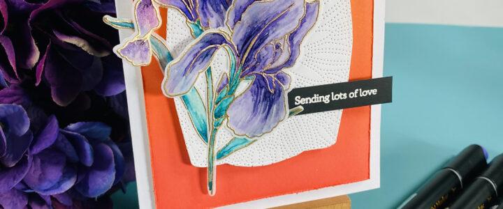 Altenew Build-A-Flower: Bearded Iris Release Blog Hop + Giveaway