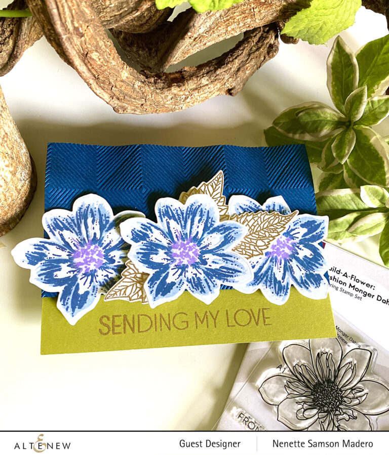 Altenew Build-A-Flower: Fashion Monger Dahlia Release Blog Hop