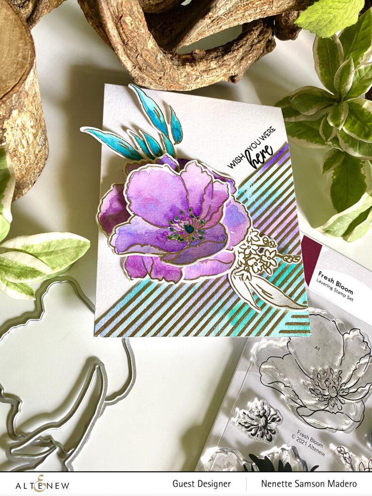 Altenew Modern & Edgy Stamps/Dies/Stencils/Embossing Folders Collection Release Blog Hop + Giveaway