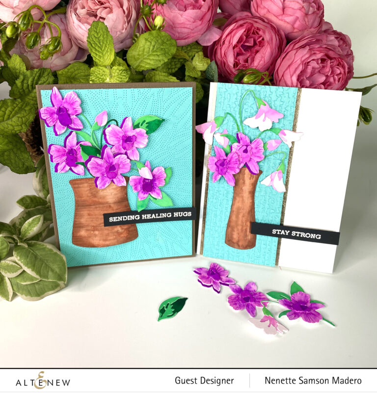 Altenew Craft-A-Flower: Dendrobium Orchid Release Blog Hop + Giveaway ($200 in total prizes)